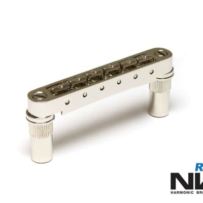 Graph Tech Resomax NV1 6mm Tune-o-matic bridge - Nickel - PM-8863-N0 NEW