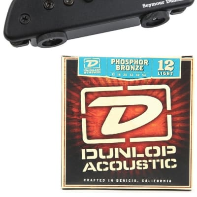Seymour Duncan Active Mag Active Magnetic Acoustic Soundhole Pickup Jack & Cable ( 1 STRING SET ) for sale