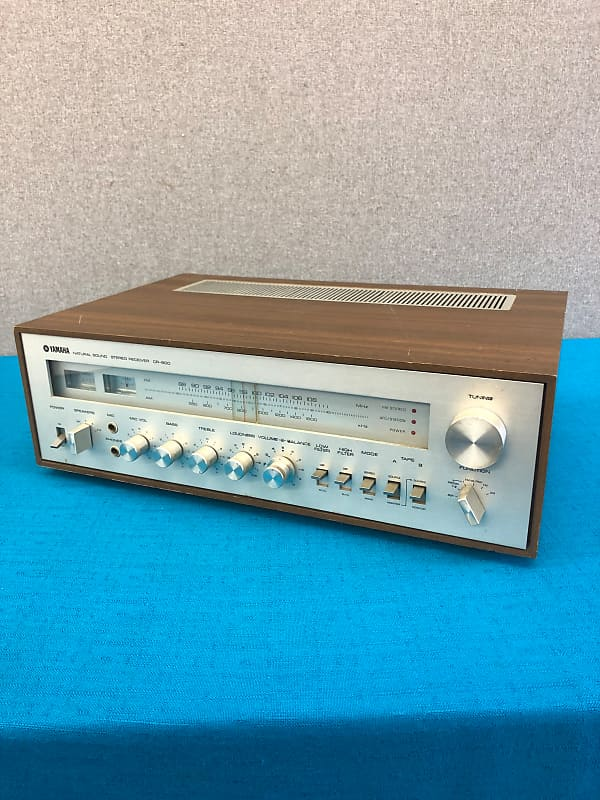 Yamaha CR-600 Natural Sound Stereo Receiver - For Repair