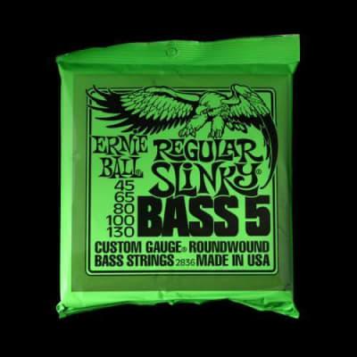 Ernie Ball Regular Slinky Nickel Wound Bass 5-Strings (45-130)