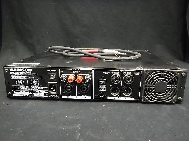 Samson S500 Two Channel 250 Watt x 2 Power Amp