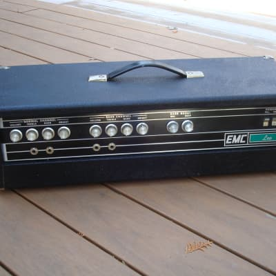 1970's EMC Leo  amplifier head / free ship for sale