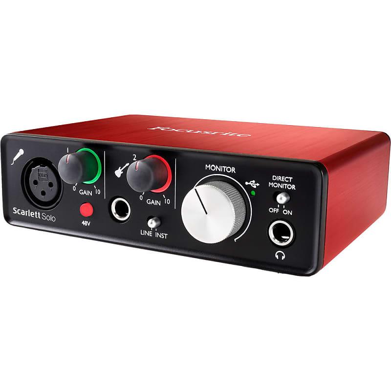focusrite scarlett solo usb audio interface 2nd gen knox reverb. Black Bedroom Furniture Sets. Home Design Ideas