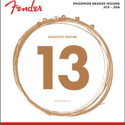 Fender Phosphor Bronze Acoustic Guitar Strings Ball End 60M .013-.056