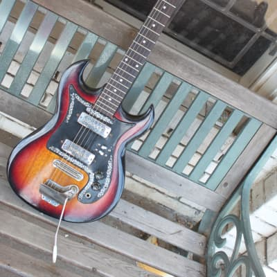 Sekova Electric Guitar 1960s Sunburst for sale