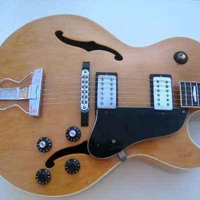 Westone Session II (Single Cut 175 style Hollowbody ) 1986 Natural for sale