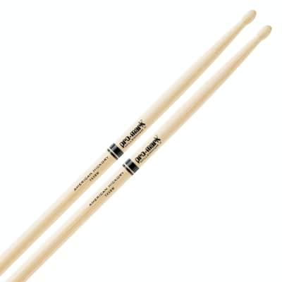 Promark 5BW Hickory Drumsticks - Wood Tip