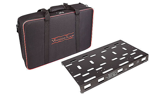 Voodoo Lab Dingbat Medium Pedalboard Power Package w/ Pedal Power 2 Plus, Gig Bag