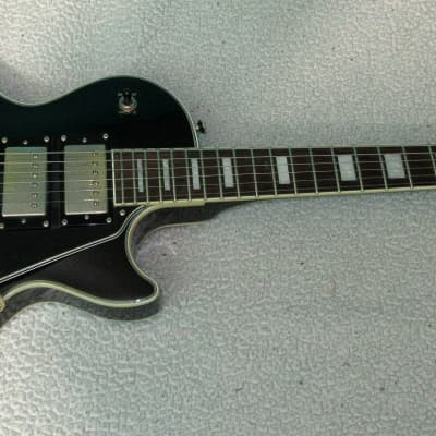 Gorgeous Epiphone Les Paul Black Beauty 3 pickup electric guitar, 2000's, Black with gold hardware for sale