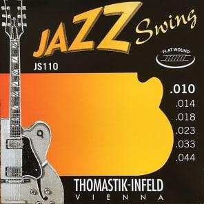 Thomastik-InfeldJS110 Jazz Swing Flatwound Electric Guitar Strings - Extra Light (.10 - .44)