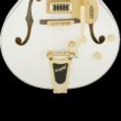 Gretsch g5422tg electromatic bigsby snowcrest white