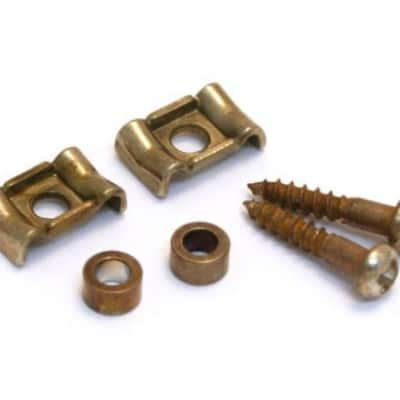 AP-0723-007 Aged Relic Guitar Nickel Guitar Vintage Style String Guides
