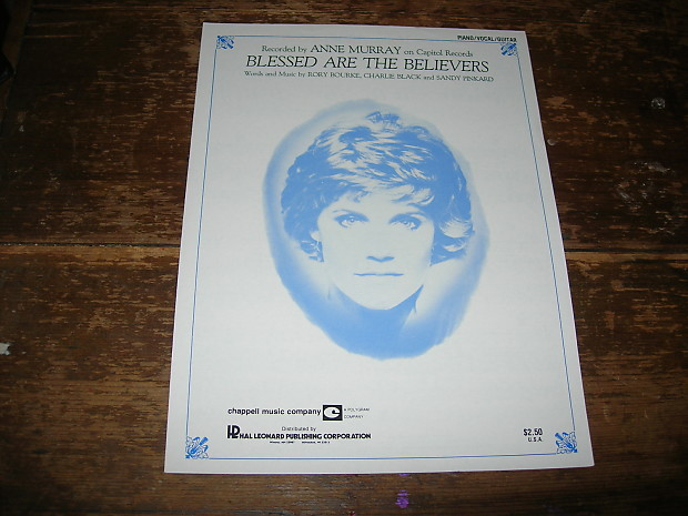 Anne Murray Sheet Music Lot | The Roman Giant