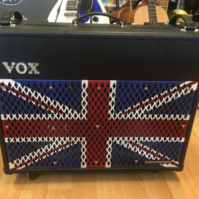 Vox  Valvetronix VT100 Union Jack Guitar Amplifer With Union Jack Grill Facia for sale