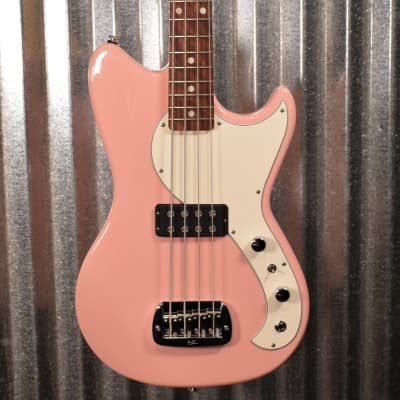 G&L USA Fullerton Deluxe Fallout 4 String Short Scale Bass Shell Pink & Bag #5181