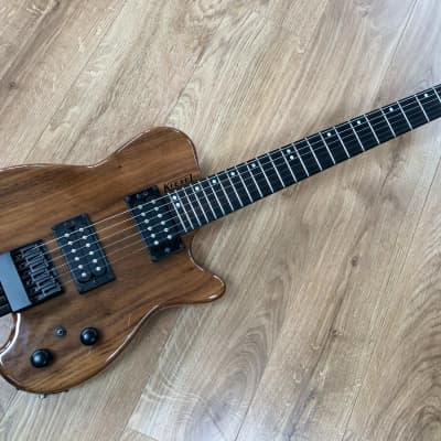 Kiesel HH2 Natural Headless Guitar for sale