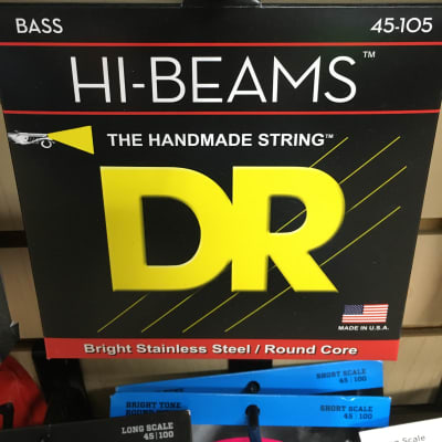 DR MR-45 Hi-Beam Medium Bass Strings