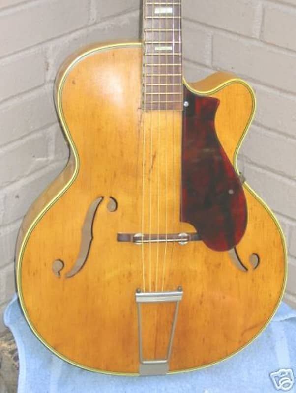 Harmony Archtop Pickguard with Pickup,Controls,Jack,Hardware No Mods Needed,New