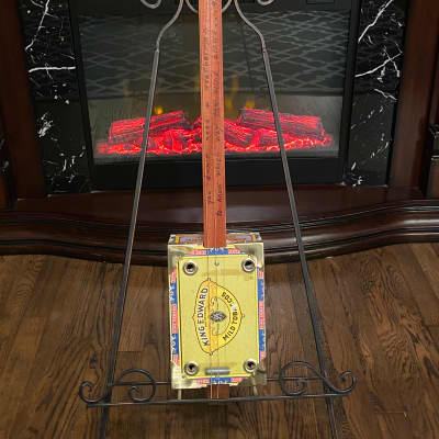 Cigar Box 3 string slide guitar for sale