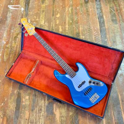 Tokai Jazz sound bass V DuPont blue metallic 5 five string mij japan for sale