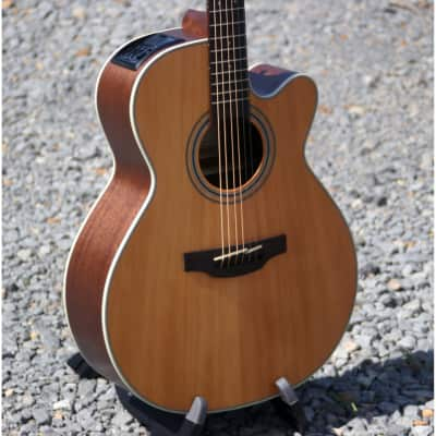 Takamine GN20CE Acoustic/Electric Guitar, Solid Cedar Top, New for sale