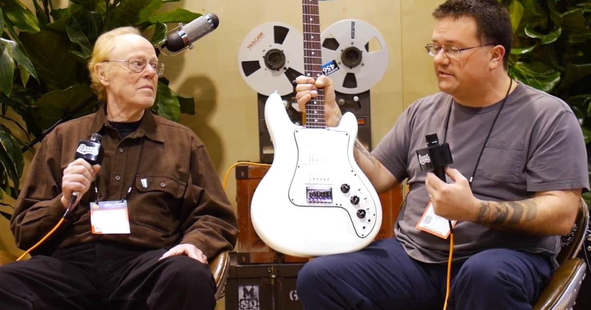 video kevin burkett of electrical guitar company talks reverb news. Black Bedroom Furniture Sets. Home Design Ideas