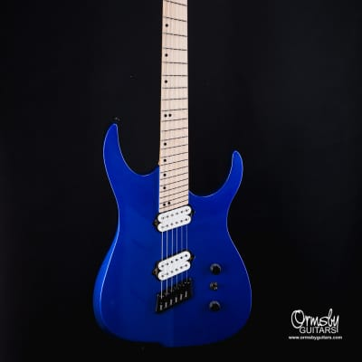 Ormsby B-Stock # 1446 HypeGTR 6 2018 Rally Blue Maple fretboard