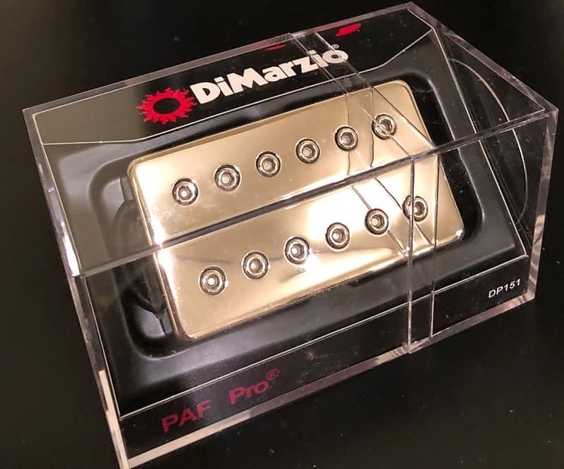 Fabulous Dimarzio Paf Pro Nickel Regular Spaced W Free Priority Reverb Wiring 101 Vieworaxxcnl