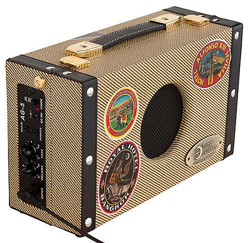 Luna Ag5 Portable Acoustic Ambiance 5 Watt Suitcase Guitar