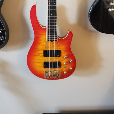 Brian Moore I5 2016 Red Burst for sale