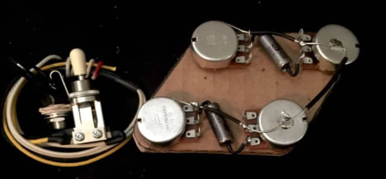 50 S Wiring Harness Les Paul : Epiphone les paul upgraded s wiring harness pio caps