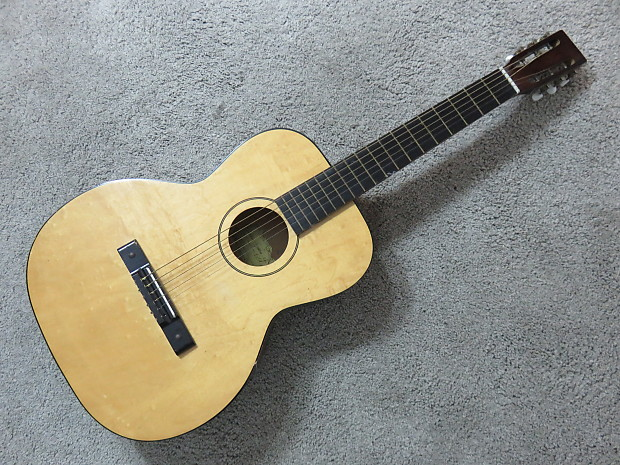 Vintage 1950s Kay Classical Acoustic Guitar High Action Reverb