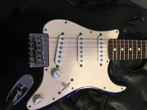 Fender Stratocaster Junior 34 2003 Black Reverb