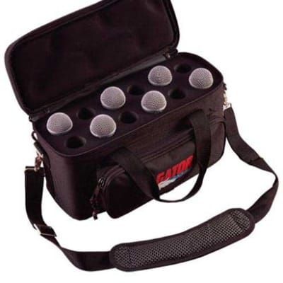 Gator GM12B Microphone Carry Bag