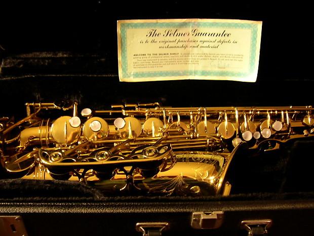 Selmer Mark VI Low A Alto Saxophone 1972 Closet Horn