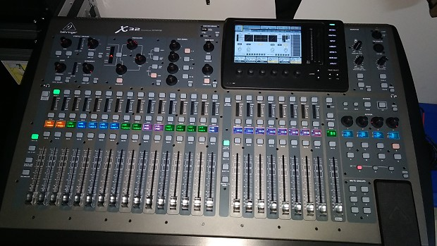 Behringer X32 with Gator Road Case and U-Track 32 Card | Reverb