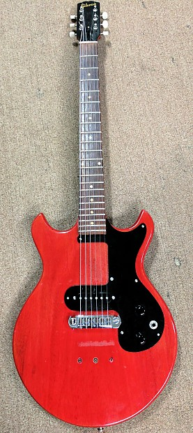 Mid 60\'s Gibson Melody Maker Electric Guitar, Mods, Hardtail, | Reverb