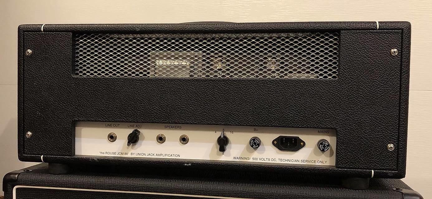 Union Jack Amps HG, 80 watt head 2013 black
