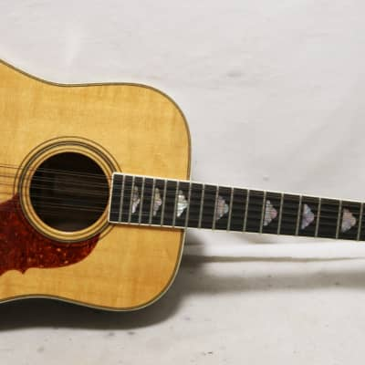 1976 BC Rich 12 String Acoustic Guitar 3Pc Back Dreadnaught for sale