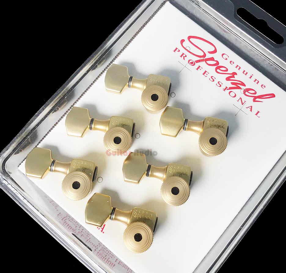 sperzel 6 in line left handed trimlok locking guitar tuners reverb. Black Bedroom Furniture Sets. Home Design Ideas