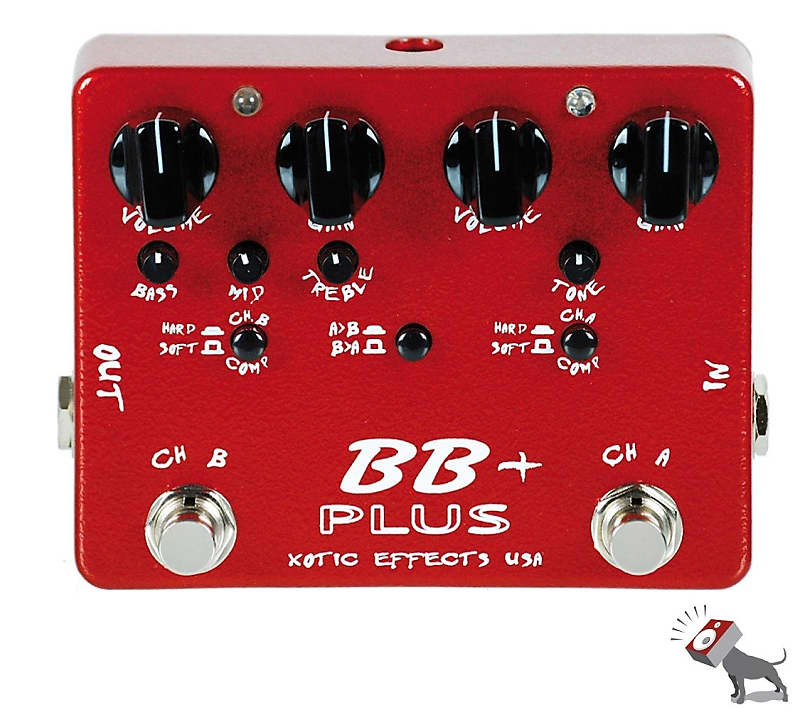 xotic effects usa bb plus preamp guitar effects pedal reverb. Black Bedroom Furniture Sets. Home Design Ideas