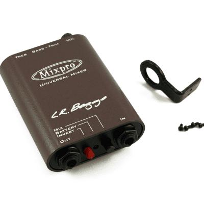 LR Baggs Dual Channel Universal Belt Clip Preamp/MIxer MIXPRO
