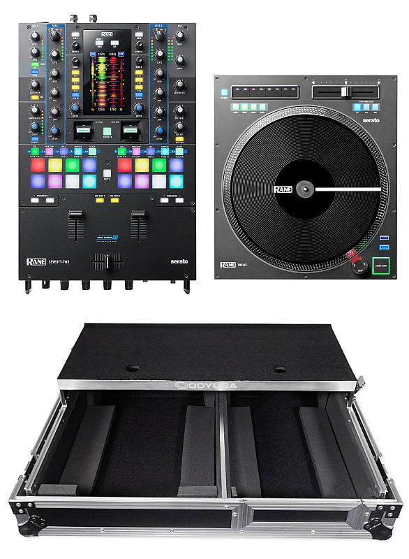 RANE SEVENTY-TWO 2-Ch  Serato DJ Mixer Interface+TWELVE Turntable+Gliding  Case