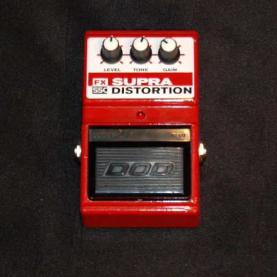 DOD FX55C Supra Distortion Pedal FX55-C FX 55 C for sale