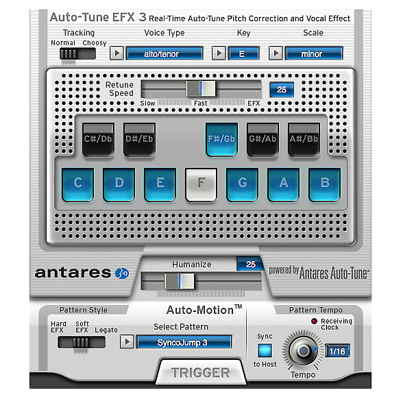 antares 631643 auto tune efx 3 pitch correction software reverb. Black Bedroom Furniture Sets. Home Design Ideas