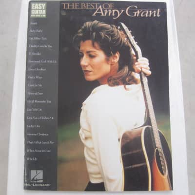 Amy Grant Best of Sheet Music Song Book Songbook Easy Guitar Tab Tablature