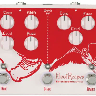 EarthQuaker Devices Hoof Reaper Double Fuzz with Octave Up