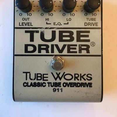 BK Butler Tube Driver Works Classic Overdrive 911 Rare 12AX7 Guitar Effect Pedal