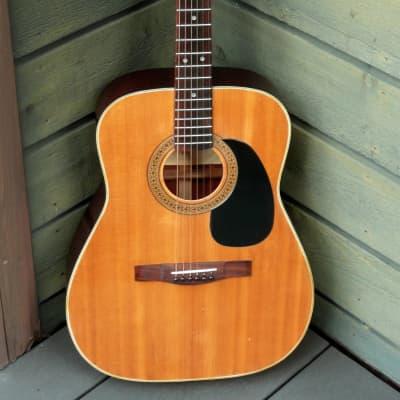 Morales MF-120 000 size falk guitar '70 Natural for sale