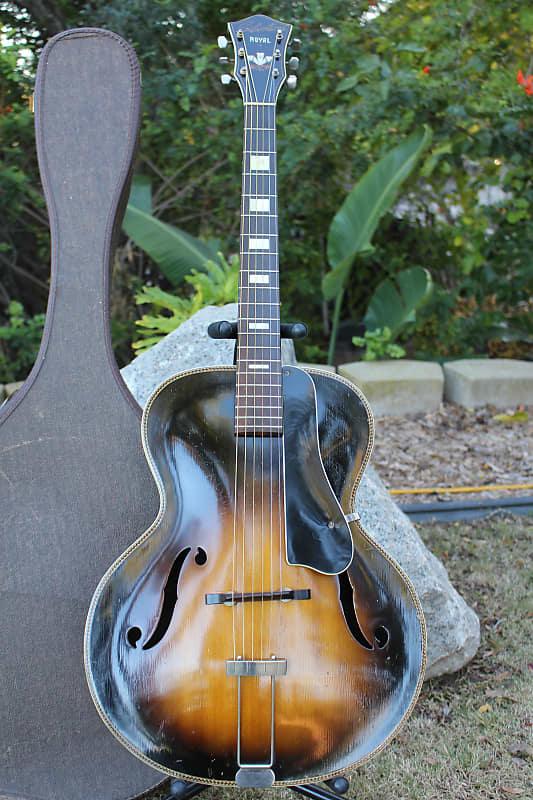 Dating Silvertone archtop gitarer
